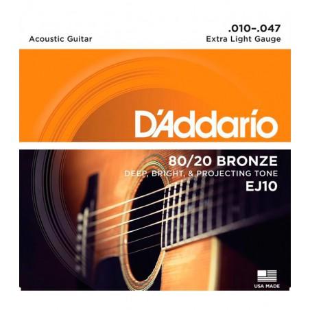 D'ADDARIO EJ-10 CUERDAS...